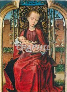Moderne Karte Bruxelles Musees Royaux des Beaux Arts La Vierge et l'Enfant Maitre Brugeois de 1473