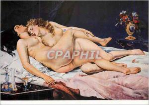 Moderne Karte Gustave Courbet les Dormeuses
