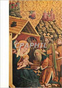 Moderne Karte Brixener Meister um 1450 Die Anbetung der Heiligen Drei Konige