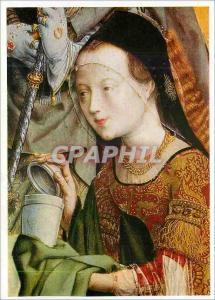 Moderne Karte Koln Wallraf Richartz Museum Meister des Bartholomausaltares Altares Die Heilige Maria Magdalena