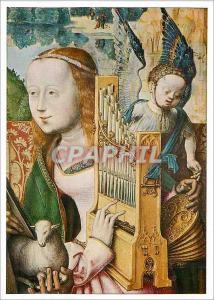 Moderne Karte Koln Wallraf Richartz Museum Meister des Bartholomausaltares Altares Die Heilige Cacilia