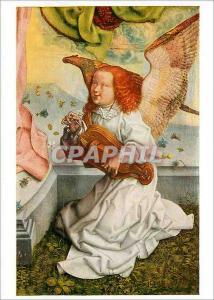 Moderne Karte Koln Wallraf Richartz Museum Meister des Bartholomausaltares Musizierender Engel