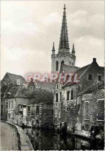 Moderne Karte Louvain Eglise St Gertrude Interieur St Geertrui