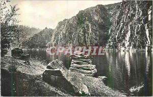 Moderne Karte Creuse Pittoresque La Vallee de la Creuse Le Lac de Crozant