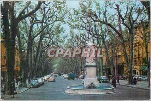 Moderne Karte Aix en Provence (Bouches du Rhone) La Cite du Roy Rene Le Cours Mirabeau Au Premier Plan