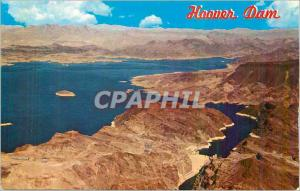 Moderne Karte Lake Mead and Hoover Dam The Once Treacherous Colorado