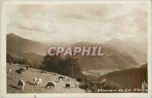 Moderne Karte les Pyrenees Col d'Aspin Paturages au Col d'Aspin