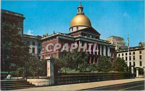 Moderne Karte Boston Mass Souvenir Corp of America  State House
