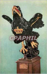Moderne Karte Figure Head of HMS Black Eagle