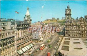 Moderne Karte Princess street and Calton Hill from the Scott Monument