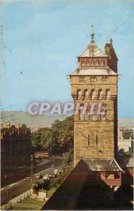 Moderne Karte Castle Street Cardiff