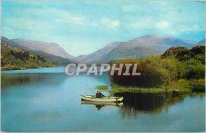 Moderne Karte Llyn Padarn Snowdonia