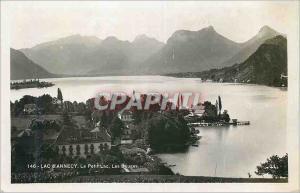 Moderne Karte Lac d Annecy Le Petit Lac Les Bourges