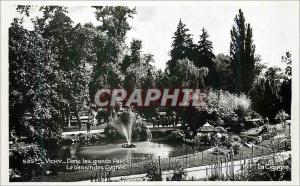 Moderne Karte Vichy Dans les grands Parcs Le bassin des Cygnes