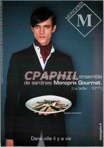 Moderne Karte Monoprix gourmet Dans ville il y a vie