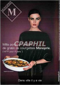 Moderne Karte Milla porte un modele de gratin de courgettes Monoprix