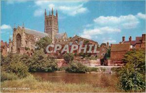 Moderne Karte Worcester Cathedral