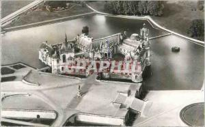 Moderne Karte Chantilly Oise Le Chateau