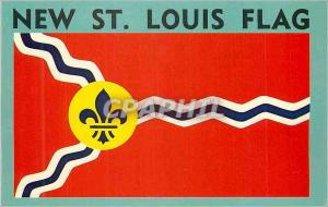 Moderne Karte St Louis Flag The new flag was accepted at the start of St Louis bicentennial celebration