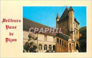 Moderne Karte Meilleurs Voeux de Dijon