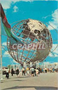 Moderne Karte Unisphere New York World's Fair 1964 1965