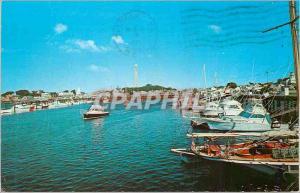 Moderne Karte Provincetown Harbor Cape Cod Mass Bateaux