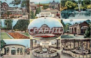 Moderne Karte Vichy (Allier) Le Casino Place de L'hotel de ville Le Parc Le Casino