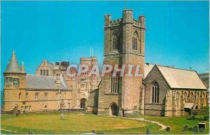 Moderne Karte Aberystwyth College and Church