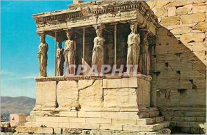 Moderne Karte Athens The Caryatides