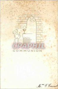 Moderne Karte Communion