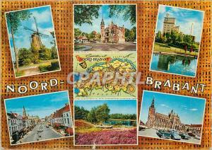 Moderne Karte Noord Brabant
