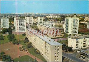 Moderne Karte Poitiers (Vienne) Centre Commercial du Clos Gauthier Le Clos Gauthier et les Sables