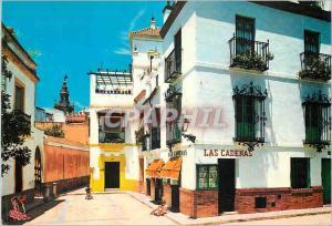 Moderne Karte Sevilla Quartier de Santa Cruz Las Cadenas