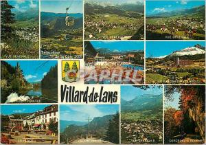 Moderne Karte Villard de Lans(Isere) Alt 1050 m