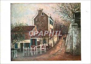 Moderne Karte Musee National d'Art Moderne Paris Utrillo Le Lapin Agile
