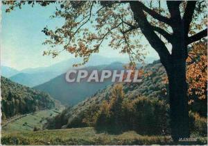 Moderne Karte Les Vosges Pittoreques La Route des Cretes