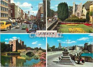 Moderne Karte County Limerick