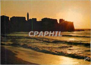 Moderne Karte Algajola la Corse Oasis de Beaute Couleurs et Lumiere de France