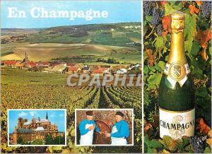 Moderne Karte En Champagne Couleurs et Lumiere de France