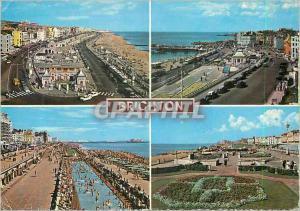 Moderne Karte Brighton Aquarium Marine Parade sea Front Looking East