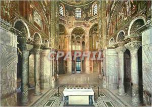 Moderne Karte Ravenna St Vitale Interieur (VI siecle)