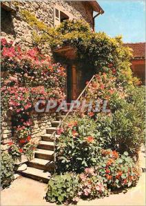Moderne Karte Yvoire (Haute Savoie) Maison fleurie Couleurs et Lumiere de France