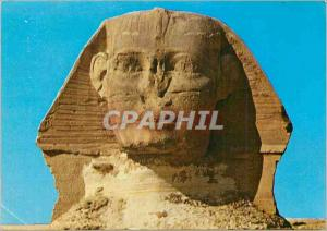 Moderne Karte The head of the famous Sphinx