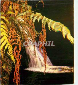 Moderne Karte Guadeloupe cascade aux ecrevisses parc naturel de la guadeloupe
