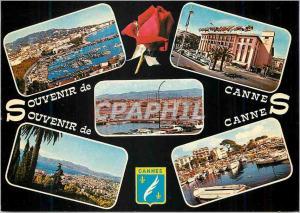 Moderne Karte Cannes souvenir de cannes