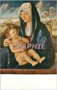 Moderne Karte Madonna and child in a landscape by giovanni bellini (1430 1516)
