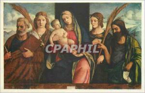 Moderne Karte giovanni bellini italian venetian madonna and child