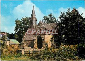 Moderne Karte Plouha chapelle n d de kermaria an isquit (xiii)