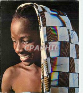 Moderne Karte Enfant Afrique