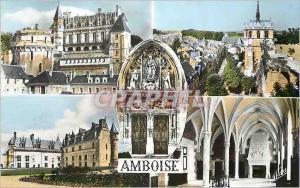 Moderne Karte Amboise (indre et loire) les merveilles du val de loire